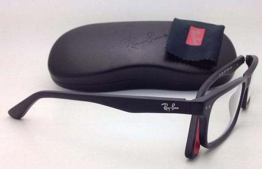 Ray-Ban New RAY-BAN Eyeglasses RB 5277 2077 54-17 140 Sandblasted Black Frames
