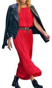 red Maxi Dress by Banana Republic