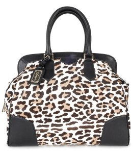 Bally leopard Travel Bag