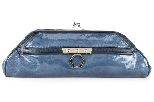 Preload https://img-static.tradesy.com/item/21631501/zac-posen-blue-patent-leather-clutch-0-0-540-540.jpg