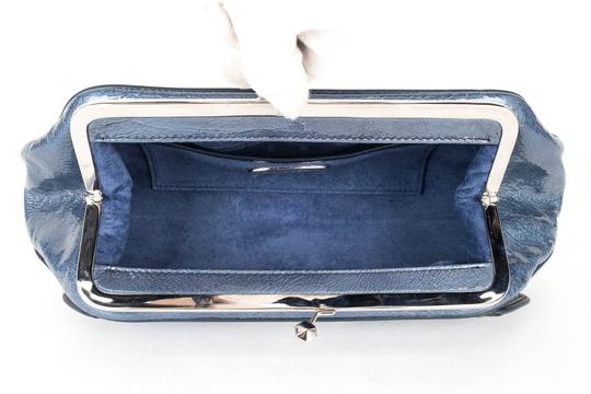 Zac Posen blue Clutch