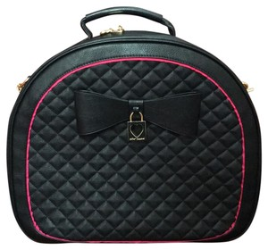 Betsey Johnson Black Travel Bag