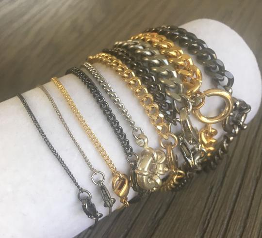 Chan Luu NEW AUTHENTIC CHAN LUU MULTI METAL & STRAND CUFF SINGLE WRAP BRACELET