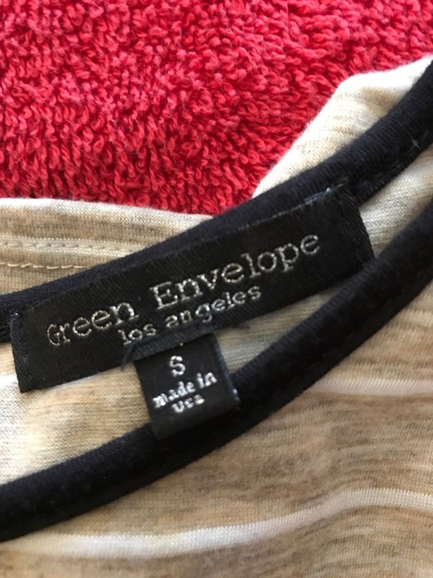 Green Envelope Sweater