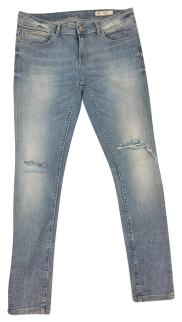 Zara Skinny Jeans-Light Wash