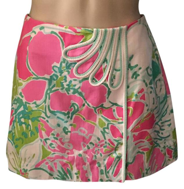 Preload https://img-static.tradesy.com/item/21631717/lilly-pulitzer-flamingo-pink-jasmine-don-t-give-a-cluck-miniskirt-size-2-xs-26-0-1-650-650.jpg