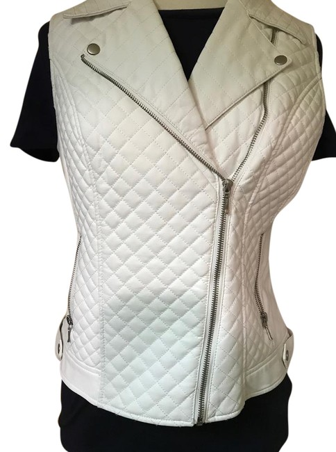 Preload https://item3.tradesy.com/images/inc-international-concepts-white-modern-faux-leather-vest-size-6-s-21631912-0-1.jpg?width=400&height=650