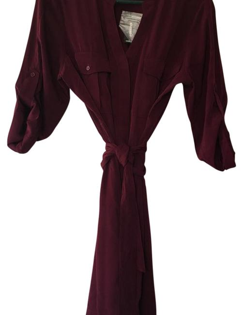 Preload https://img-static.tradesy.com/item/21631927/express-burgundy-mid-length-short-casual-dress-size-8-m-0-2-650-650.jpg