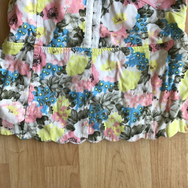 Free People Top spring floral