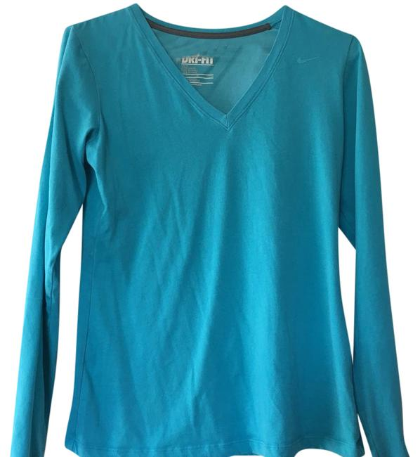 Preload https://item5.tradesy.com/images/nike-blue-activewear-top-size-8-m-21632034-0-1.jpg?width=400&height=650