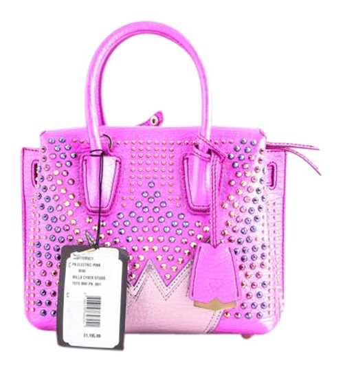 Preload https://item4.tradesy.com/images/mcm-pink-milla-cyber-studs-tote-21632058-0-2.jpg?width=440&height=440