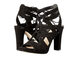 Via Spiga New In Box Paltform Sandals Black Pumps