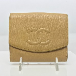 Chanel beige/tan/gold Clutch