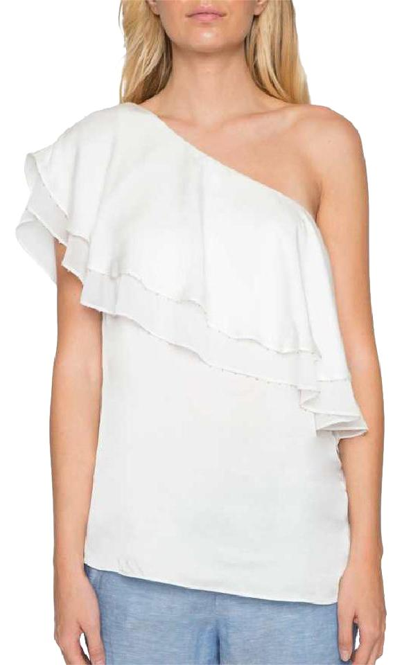 8804b7582ad Willow & Clay And Nordstrom Ruffle Off Shoulder Viscose Top white Image 0  ...