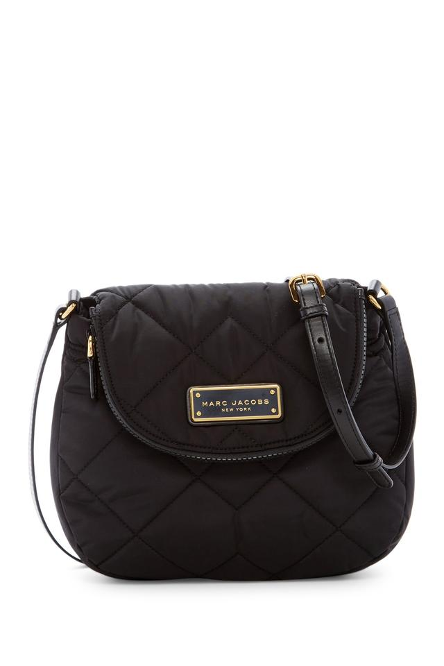 63265eee07df Marc by Marc Jacobs M0011324 Natasha Quilted Crossbody Black Nylon ...