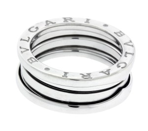 BVLGARI Bvlgari B.ZERO1 3 band ring in 18k white gold size 56 (USA 7.75)
