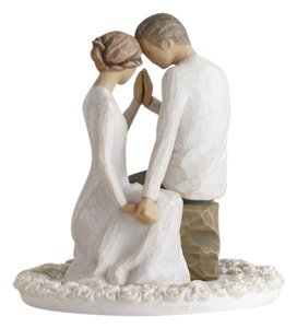 Tender and Romantic Young Love Around You Figurine Cake Topper