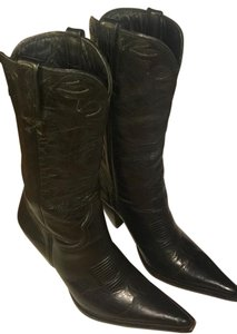 Charlie 1 Horse by Lucchese Leather Charlie-horse Western Cowboy black Boots