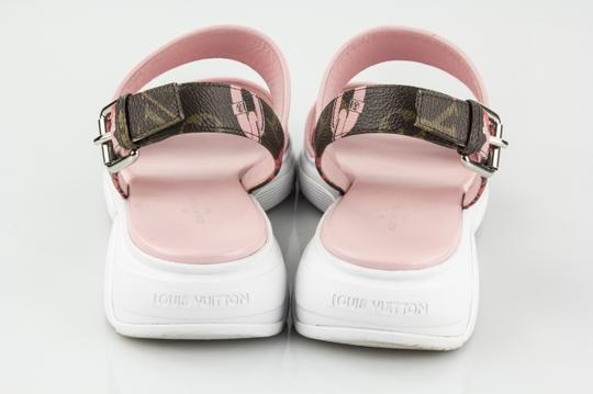 Louis Vuitton Monogram and Light Pink Sandals