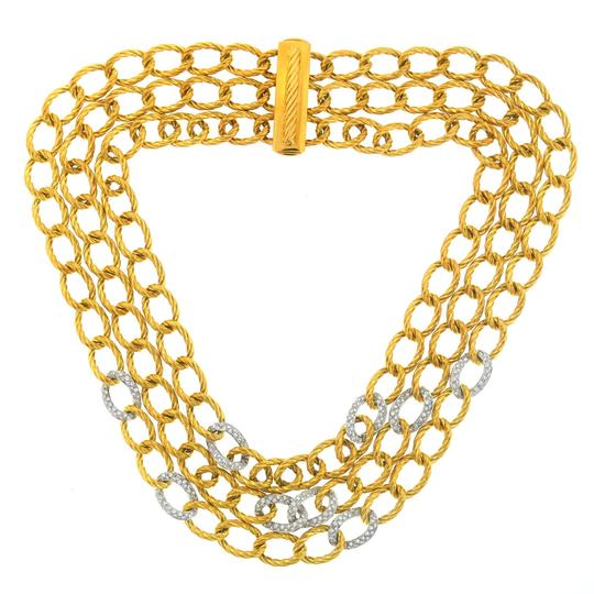 Preload https://img-static.tradesy.com/item/21634374/david-yurman-gold-18k-3-strand-twisted-oval-link-chain-necklace-0-0-540-540.jpg