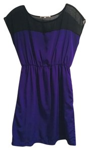 Collective Concepts short dress purple on Tradesy