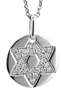 ABC Jewelry Star of David Pendant