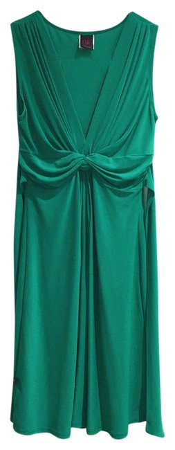 Item - Green Sleeveless Short Cocktail Dress Size 2 (XS)