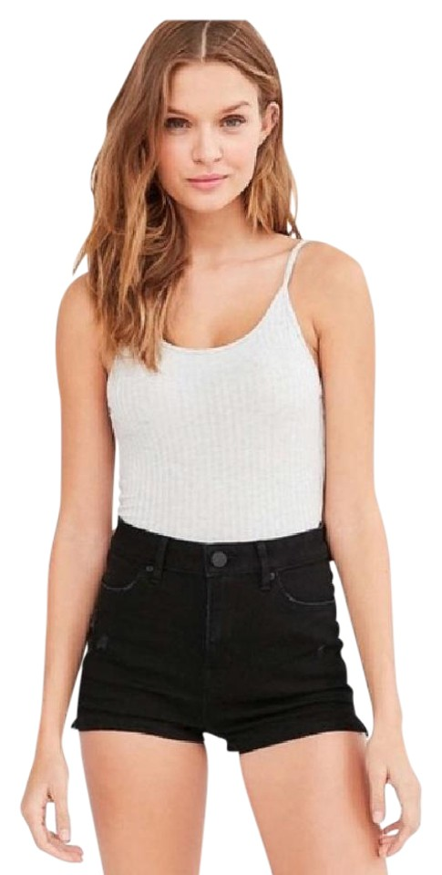 aabbba94fd Urban Outfitters Dark Grey Bdg Super High Shorts Size 2 (XS, 26 ...