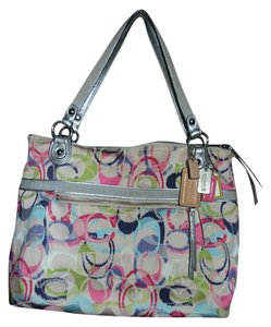 Coach Ikat Tote Shoulder Bag