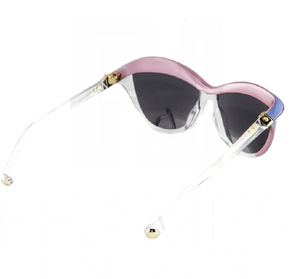 0ad20e015f2 Dior Multicolor New Demoiselle 1 Cat Eye Made In Italy Sunglasses ...
