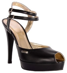 Gianfranco Ferre Black Platforms
