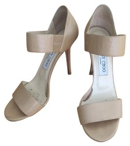 Jimmy Choo Alana Stilleto Wedding Tan Sandals