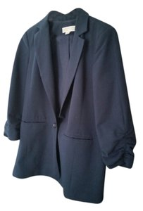 Michael Kors Button Down Shirt Navy blue blazer