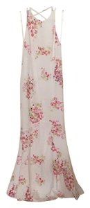 white and pink Maxi Dress by Jarlo
