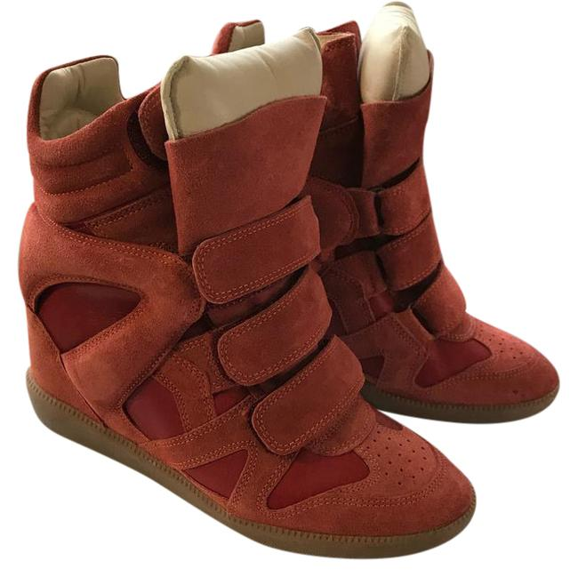 Isabel Marant Burnt/Red Sneakers Size US 6 Regular (M, B) Isabel Marant Burnt/Red Sneakers Size US 6 Regular (M, B) Image 1