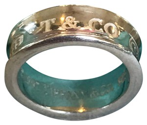 Tiffany & Co. T & Co 1837 Ring Size 8