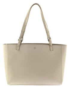 930227139536 Tory Burch Large York Buckle French Gray Saffiano Leather Tote - Tradesy