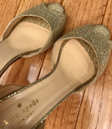 Kate Spade Gold Pumps Size US 7.5 Regular (M, B)