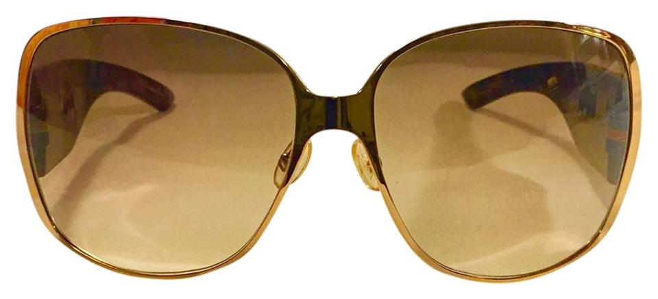 088ac981545f5 Dior Tortoise Brown Gold Crystals Indi Night Sunglasses - Tradesy