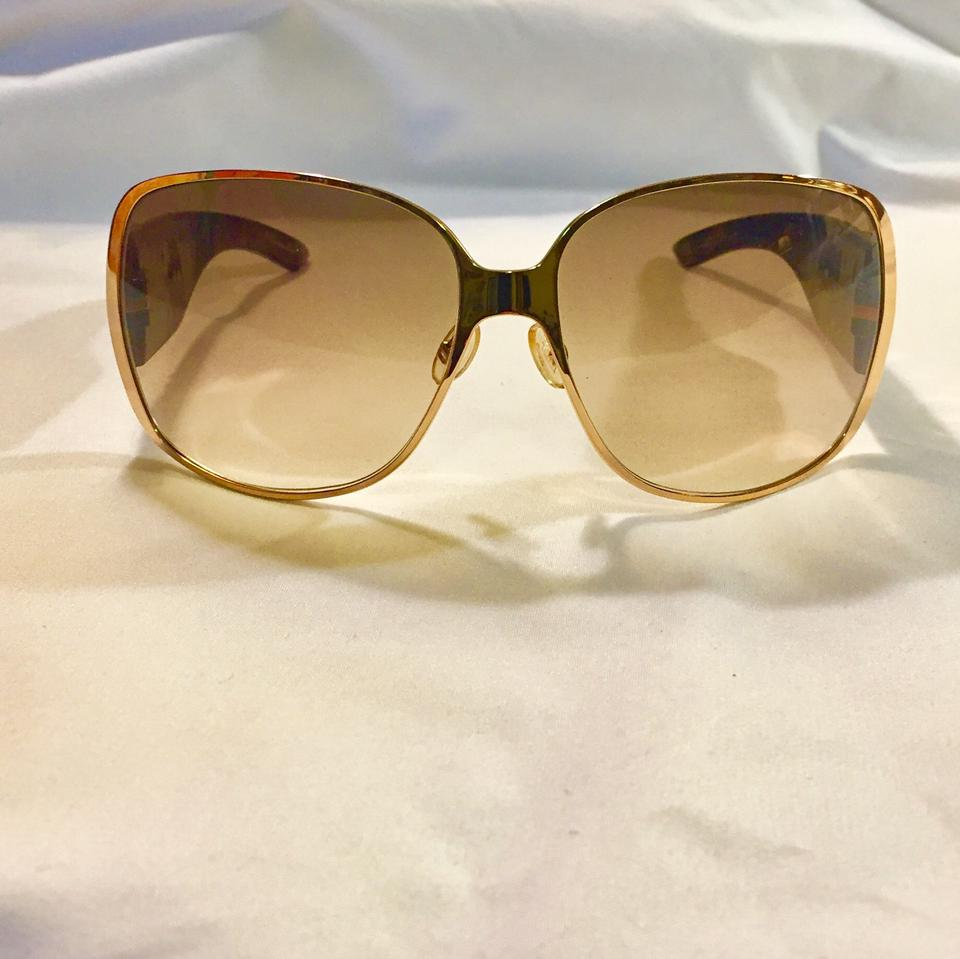 8d97a6631d7d Dior Tortoise Brown Gold Crystals Indi Night Sunglasses - Tradesy