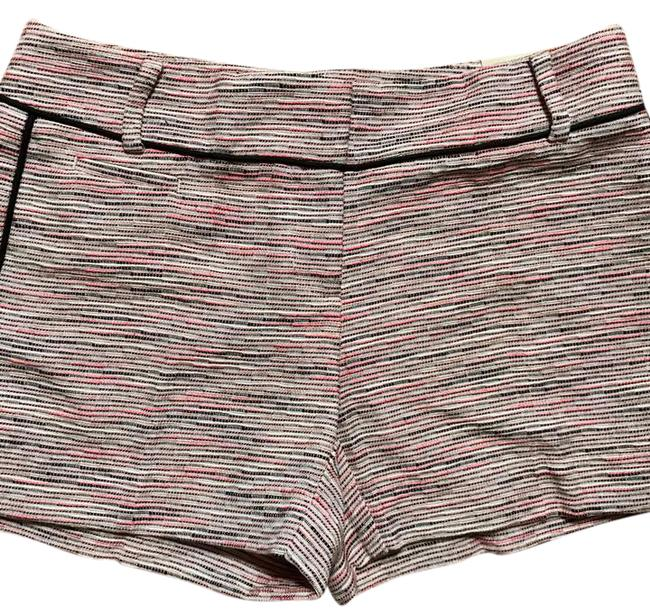 Item - Black and Pink Spacedye Shorts Size Petite 0 (XXS)