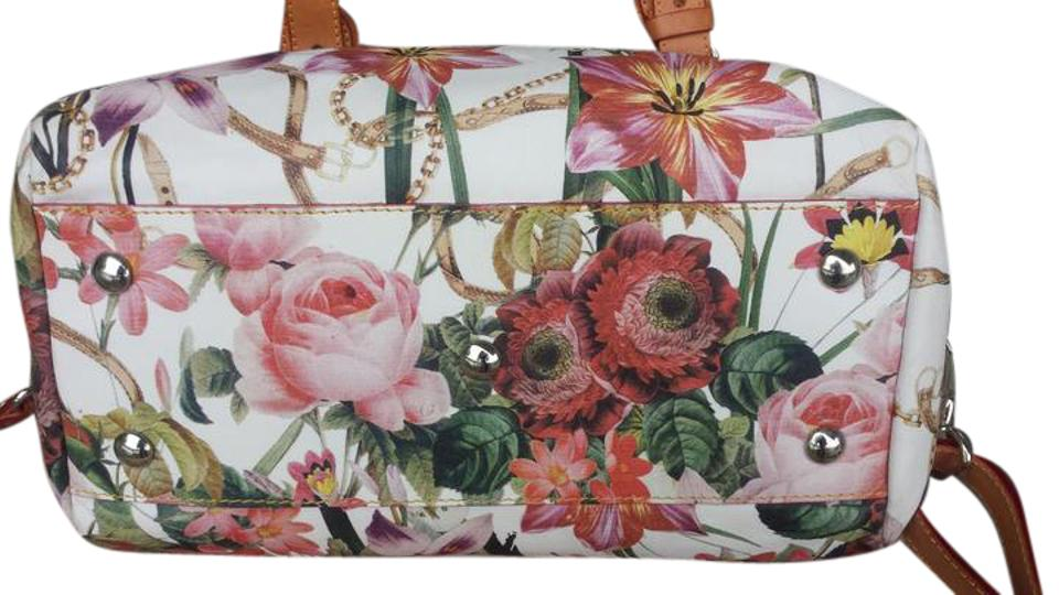 03520d7f8d34 Cavalcanti Floral Leather Cross Body Bag - Tradesy