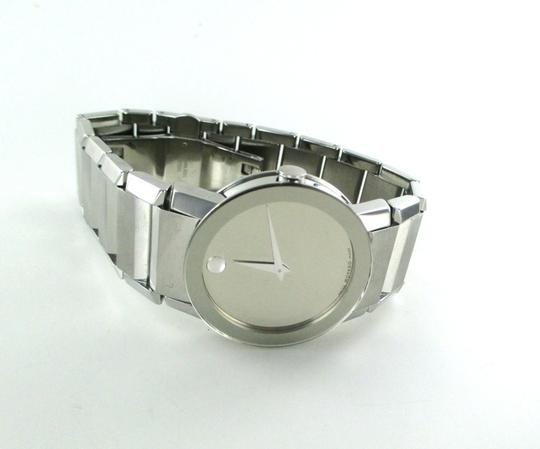 Movado MOVADO MUSEUM 84 G1 2896 SWISS MADE WATCH STAINLESS STEEL GENTS MEN MIRROR