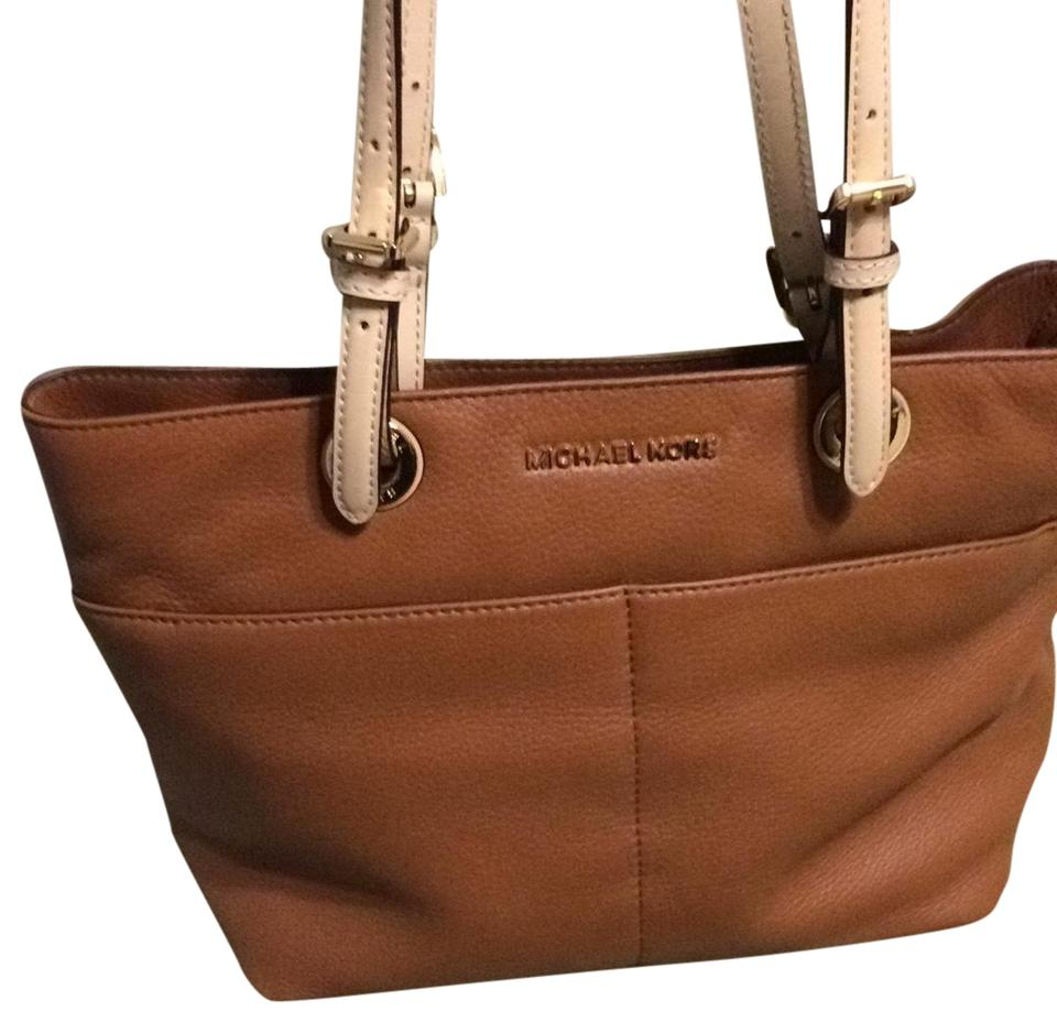 a7a67ddd4171cb Michael Kors Bedford 30h4gbft6l Shoulder Tote in LUGGAGE Image 0 ...