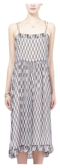 Item - Black and White Print Etoile Zaffer Cami Mid-length Casual Maxi Dress Size 2 (XS)