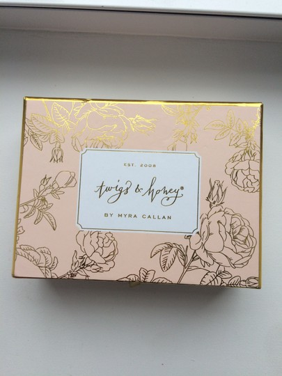 BHLDN Pearl Ivory Gold and Crystal Twigs Honey Petite Flora Pins Hair Accessory Image 1