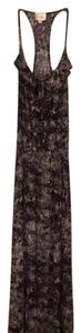 Purple, black, white and pink Maxi Dress by Parker