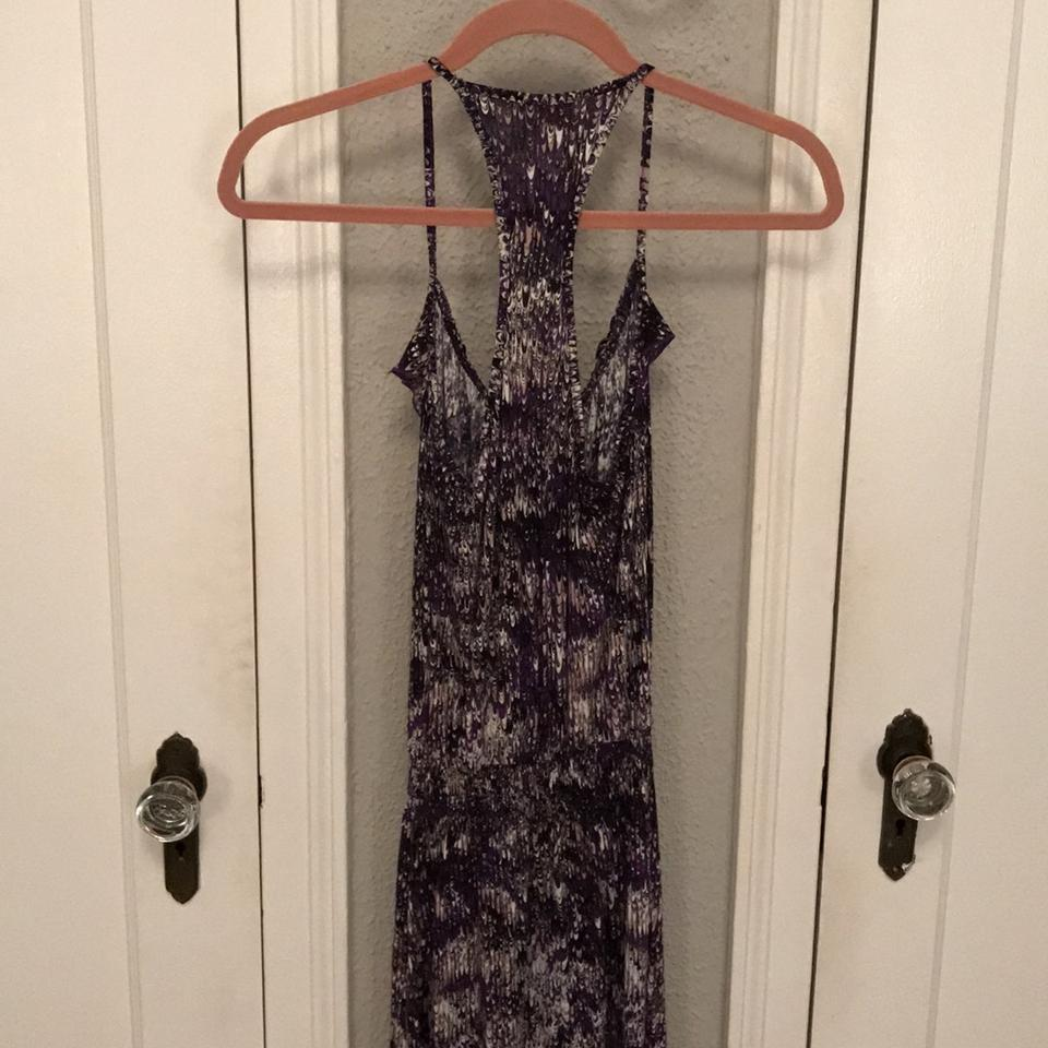 Black Maxi Pink White Parker Dress Purple Casual and zg1Sgwaxq