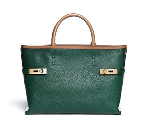 Chloé Charlotte Charlotte Medium Charlotte Tote in Racing Green Chloe