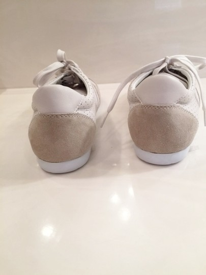 Dolce & Gabbana Mens And New Leather Suede Leather White Athletic